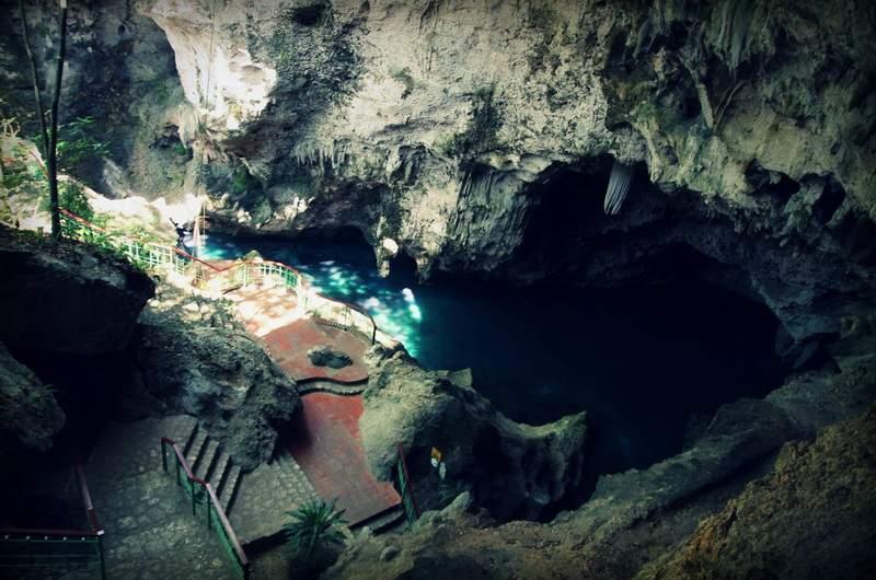 Парк Мирадор дель Эсте. Пещера Три глаза