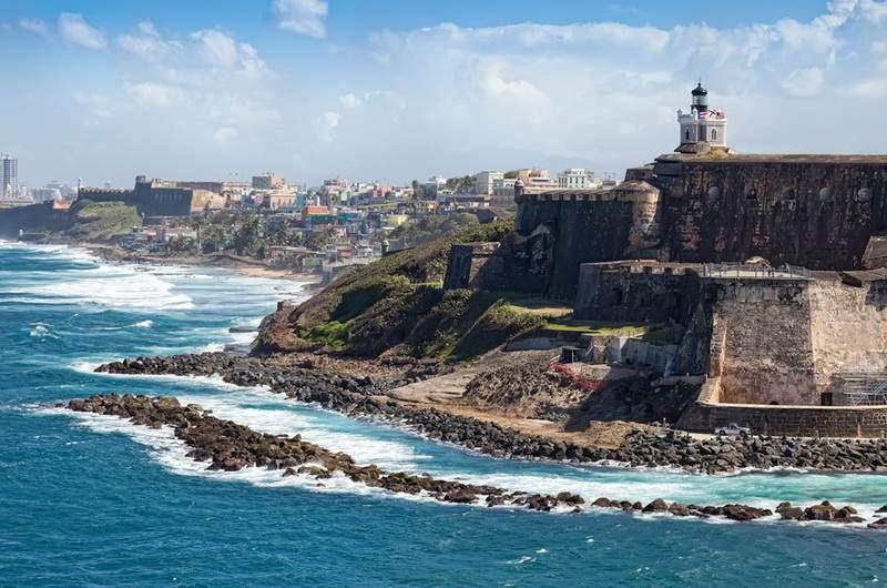Форт Сан-Фелипе-дель-Морро г. Сан Хуан