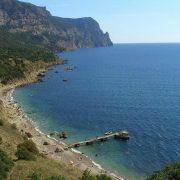 Золотой пляж в Балаклаве