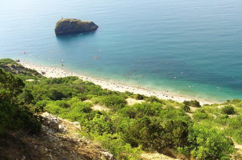 Яшмовый пляж на мысе Фиолент, Севастополь