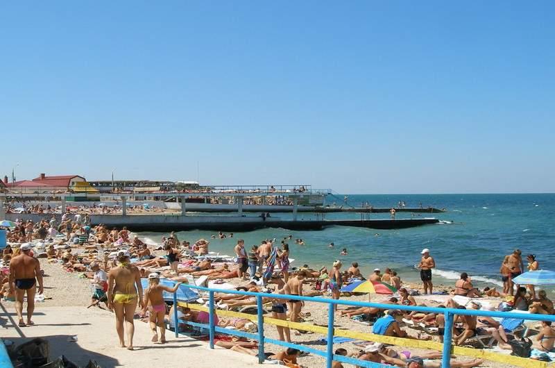 Пляж Парк Победы, Севастополь