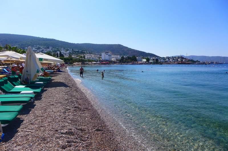 Бодрум городской пляж