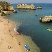 Пляж Донна-Анна, Португалия