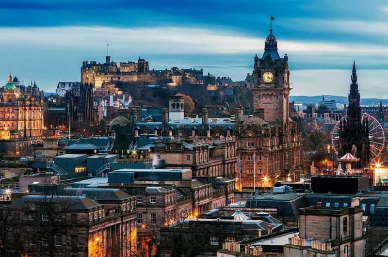 Тур по Эдинбургу