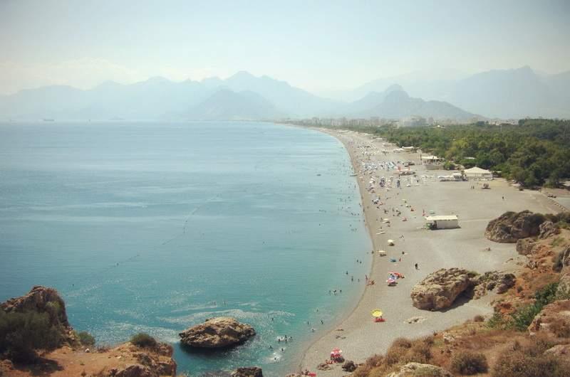 Пляж Коньяалты, Анталия
