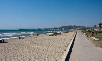 Длинный пляж, Кушадасы