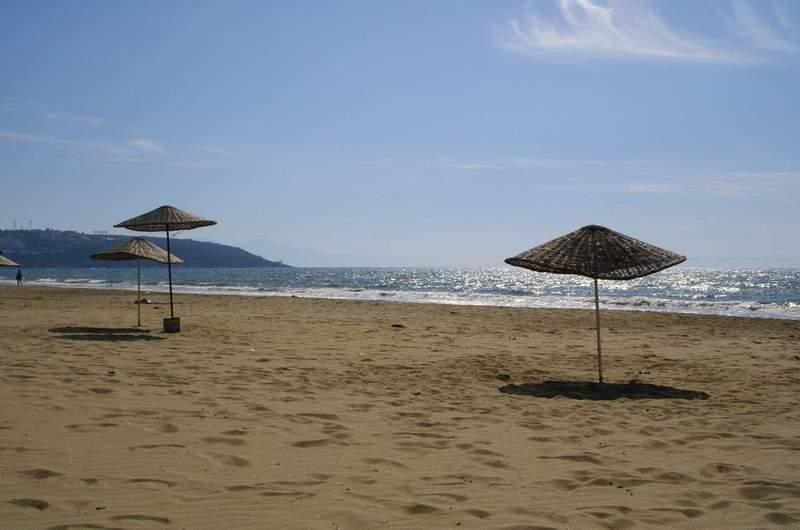 Пляж Памучак, Кушадасы