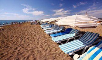 Восточный пляж Сиде