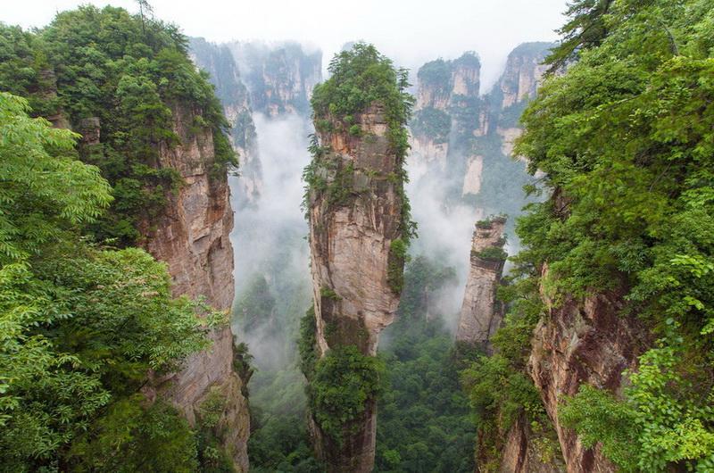 Китайский парк Чжанцзяцзе