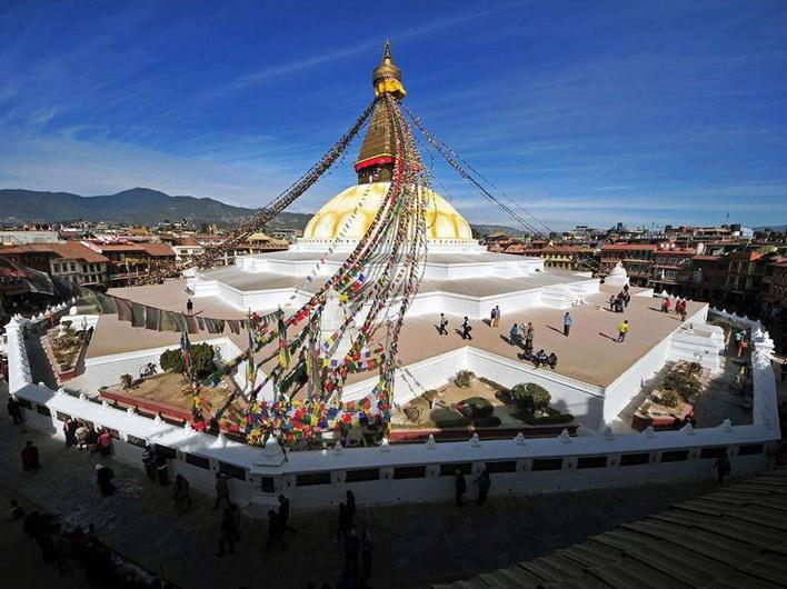 Ступа Боуда, Катманду, Непал