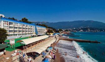 Пляж отеля Левант