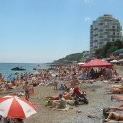 Приморский пляж