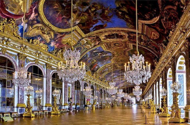Версаль. Зеркальная галерея