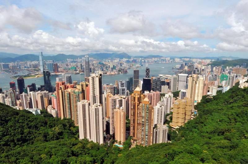 Гонконг. Вид с Пика Виктории