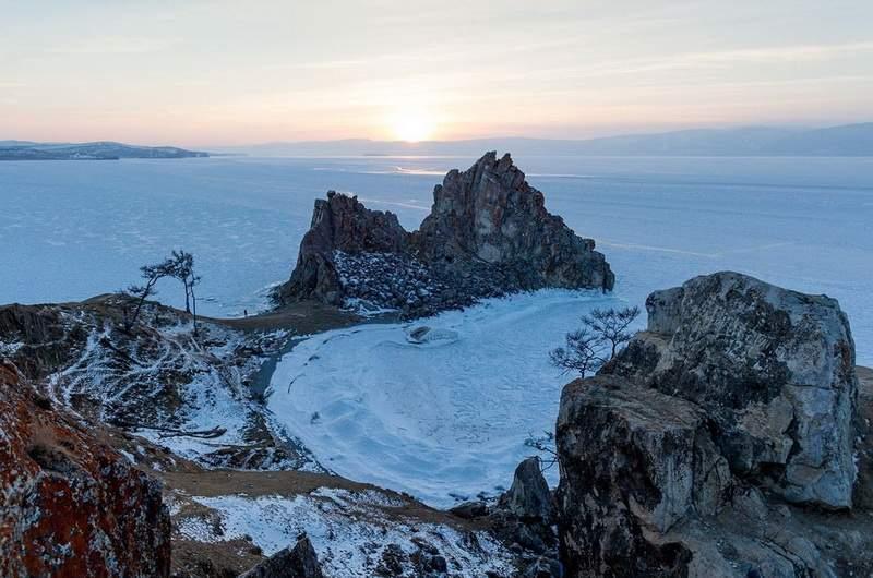 Ольхон. Байкал