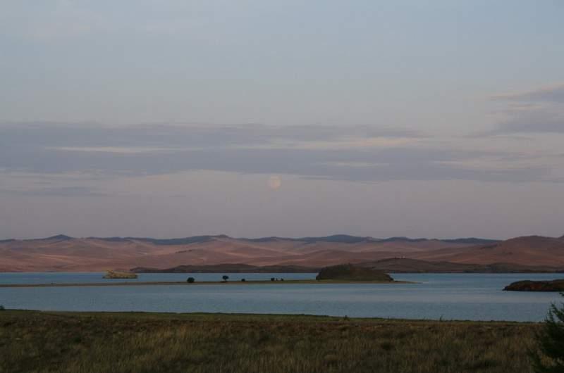 Байкал. Вид на Ольхон