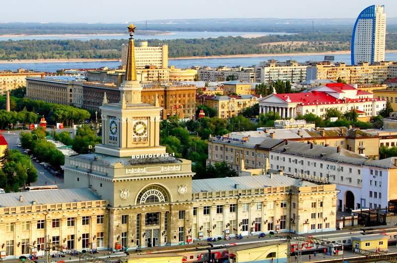 Волгоград. Вокзал