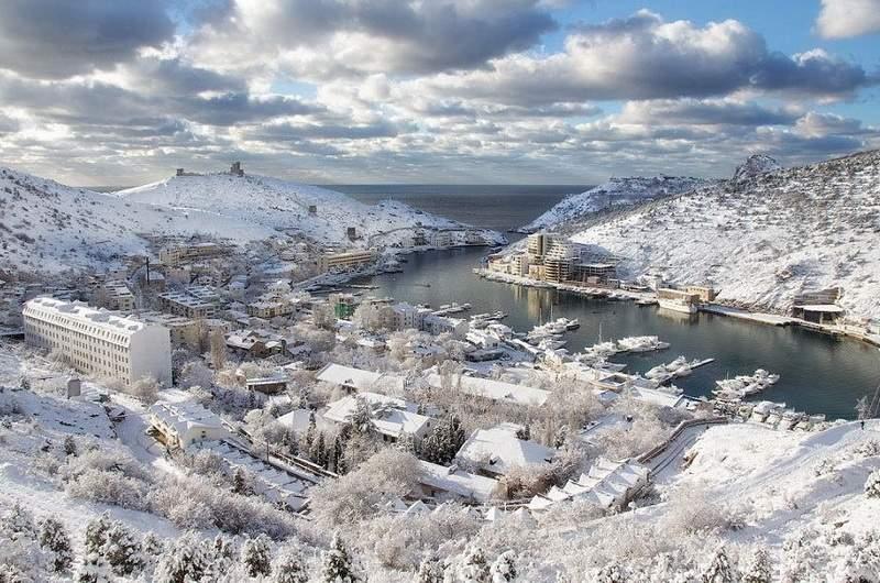 Балаклава зимой