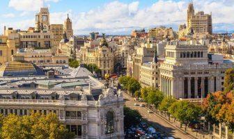 Гран-Виа. Мадрид