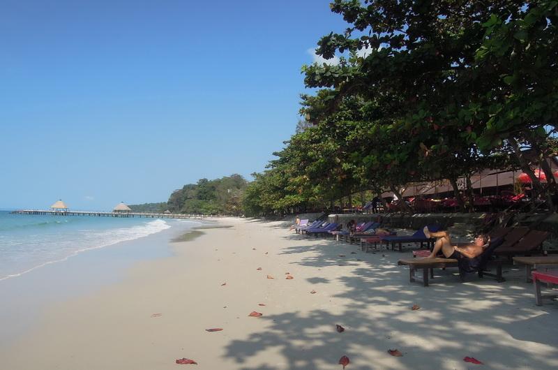Пляж Независимости. Камбоджа
