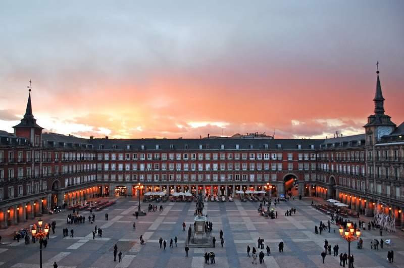 Мадрид. Площадь Пласа-Майор