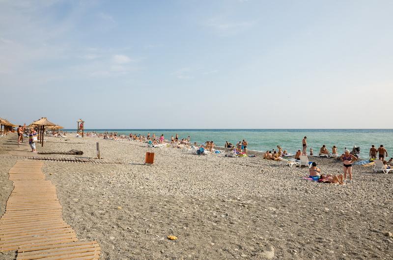 Пляж Чайка, Адлер