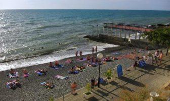 Пляж Искра, Сочи
