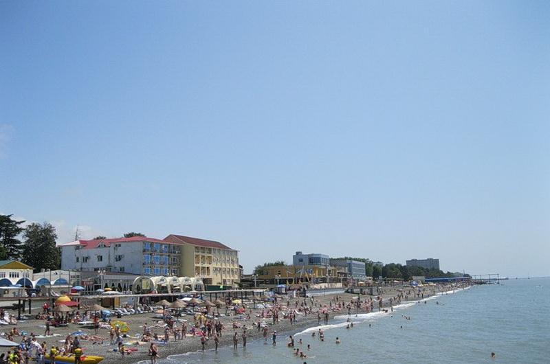 Пляж Огонёк, Адлер