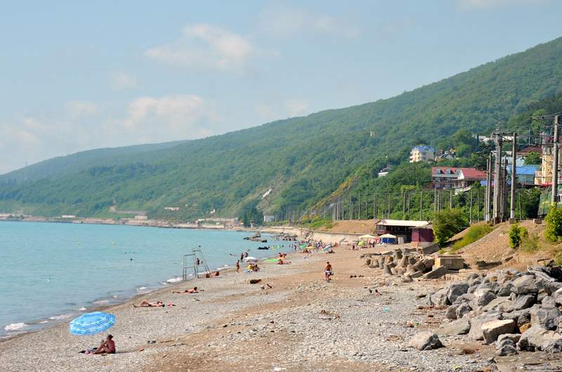 Пляж Свирский, Лазаревское