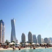 Пляж Dubai Marina