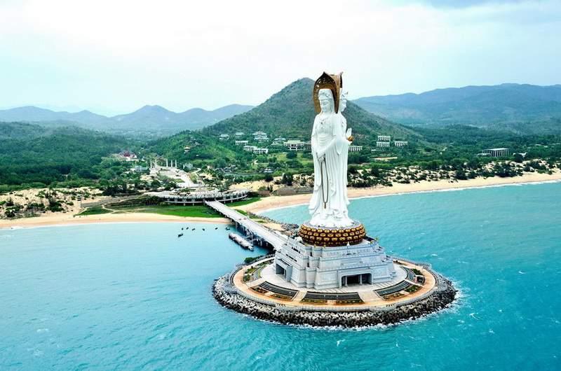 Хайнань. 108-метровая статуя бодхисаттвы Гуаньинь