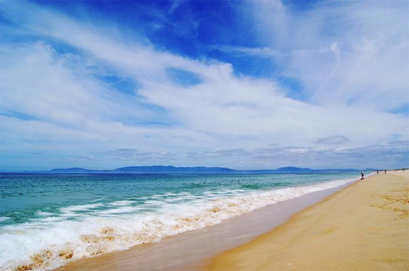 Пляж Porras Comporta в Алентежу, Португалия