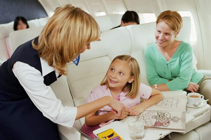 Авиаперелёт с ребёнком в Крым
