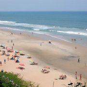 Пляж Варкала, Керала, Индия