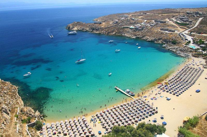Миконос. Paradise beach