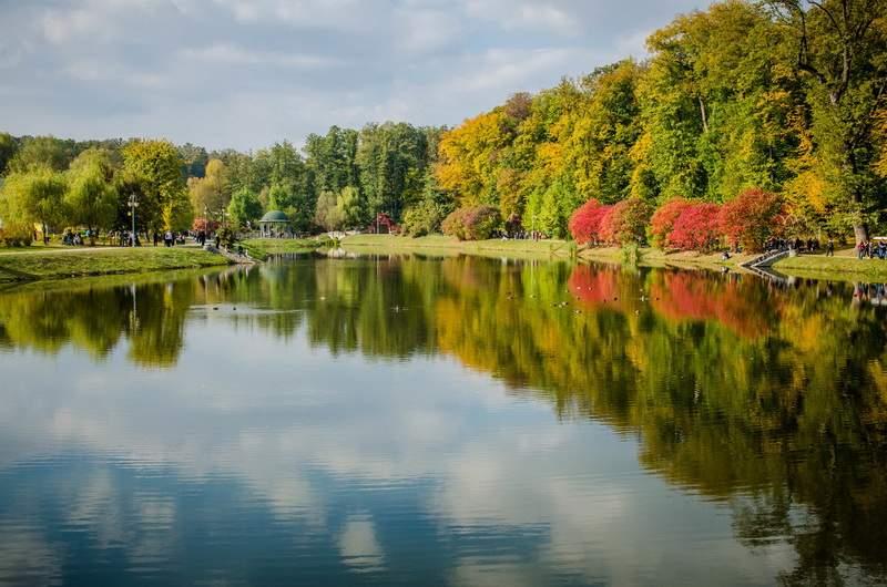 Парк Феофания, Киев