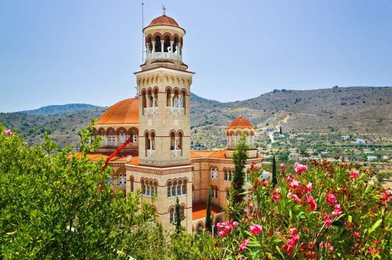 Церковь Святого Нектария, остров Эгина