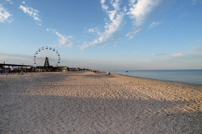 Пляж Кирилловки
