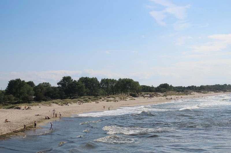 Пляжи Балтийска